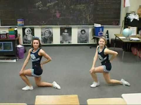 If I do a dance when I try out for cheerleading this would totally be the dance I do.