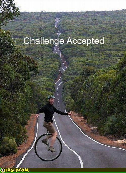 Extreme Unicycle Challenge