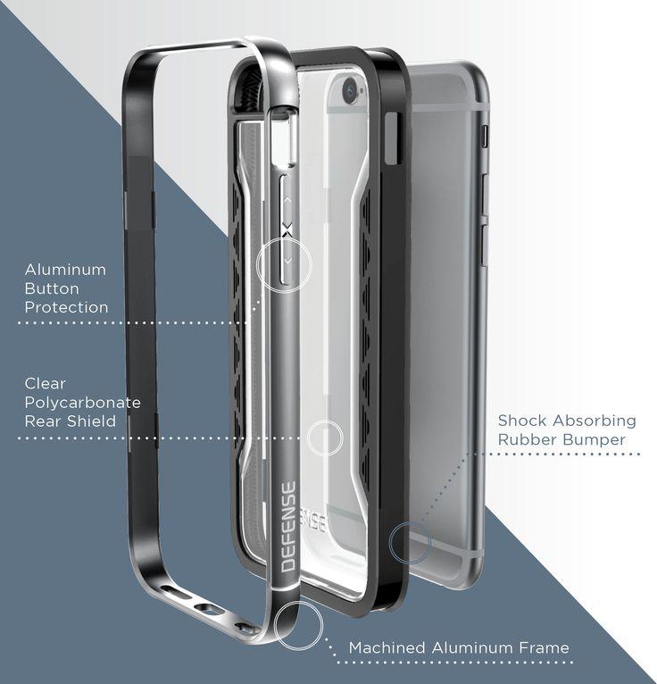 Defense Shield for iPhone 6s/6 Plus – X-Doria