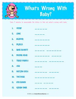 easy baby shower games instant shower games baby showers