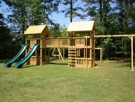playground sets | ... Swing Sets by Design - Custom Built Swingsets and Playground Equipment