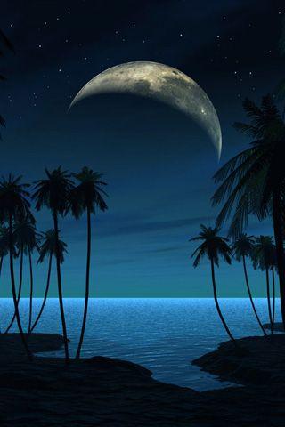 Beach at Night #Pinterest Repin Pin-a-way by http://pinterest.com/joannamagrath