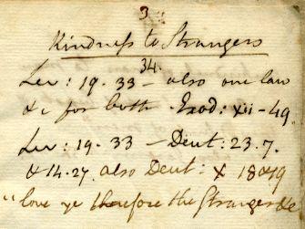 WallBuilders - Historical Documents - Benjamin Rush Personal Bible Study