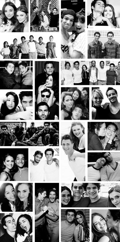 """Whenever we leave it'll definitely be sad, but I love being here. I can't imagine Teen Wolf without me — and I don't mean that in a cocky way. It's just that this is my home, my family. The support group I have on this set … dammit, I just really love these people."" -Tyler Posey"