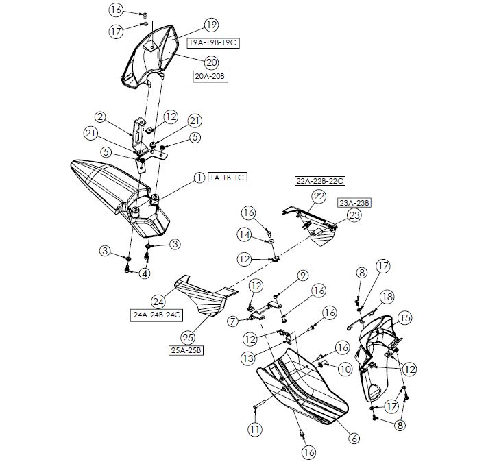Bultaco Brinco Plastics