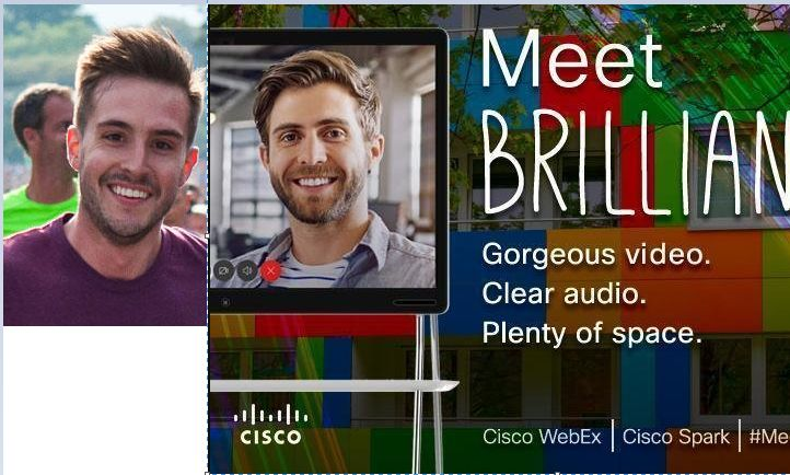 Looks like ridiculously photogenic guy is a Cisco model now