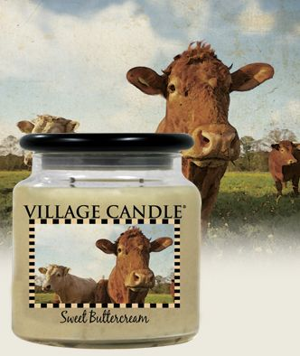 Sweet Buttercream| New Kitchen Collection Scented Candles | Village Candle