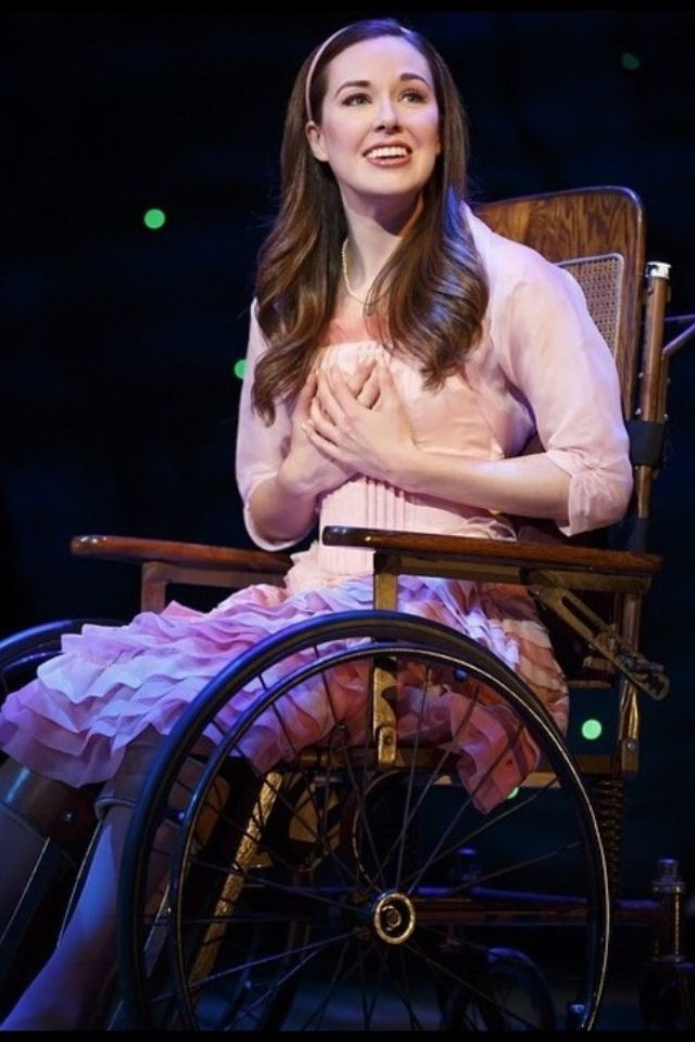 Liana Hunt as Nessarose - I saw her as Nessarose in the 2015 Wicked tour!