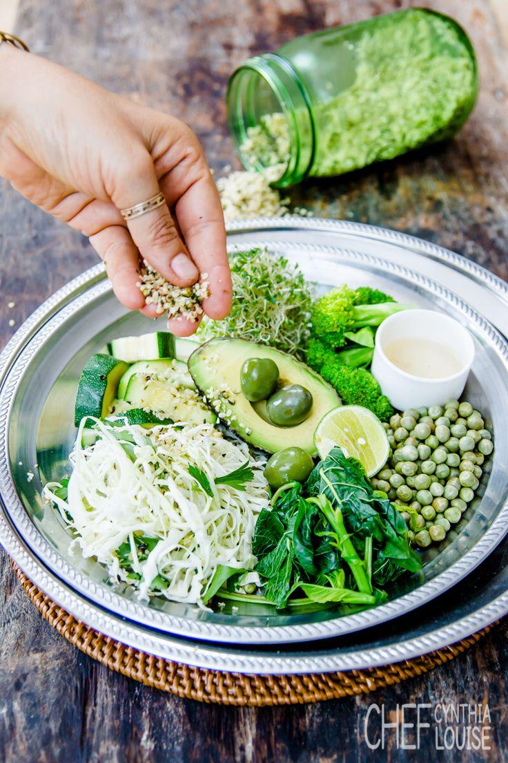 www.chefcynthialouise.com The green breakfast bowl