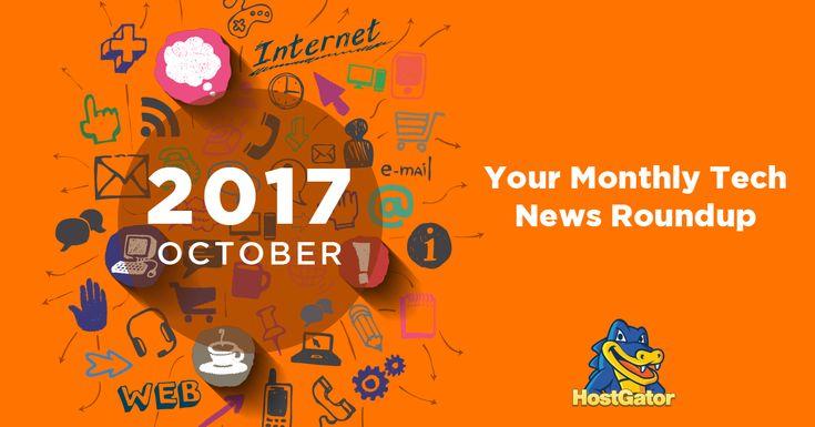 October Tech News Roundup
