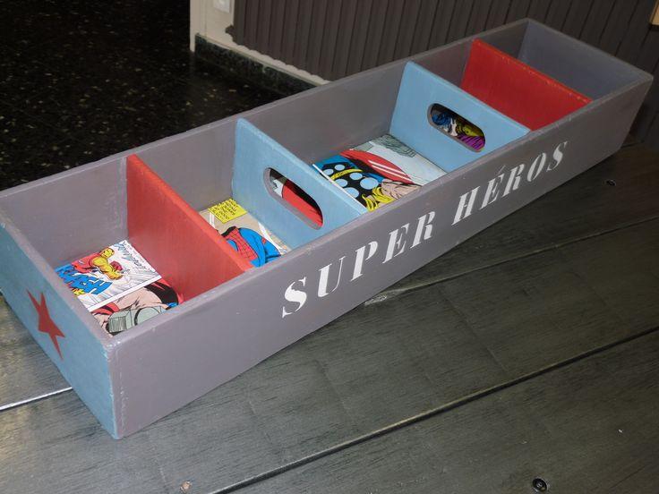Boite De Rangement Super Héro, Spiderman, Garçon