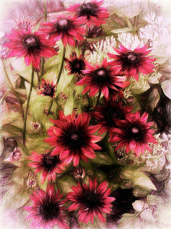 Cherry Brandy Art Print by Leslie Montgomery.  All prints are professionally printed, packaged, and shipped within 3 - 4 business days. Choose from multiple sizes and hundreds of frame and mat options.