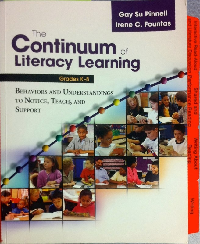 Fountas and pinnell leveled book list k-8