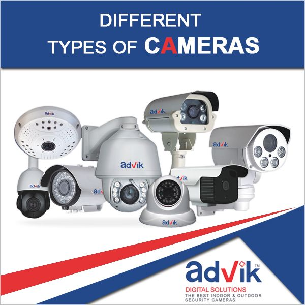 Different types of #cameras !!! #CCTV : Closed circuit #television utilizes #videosecurity cameras to capture and transmit video feeds to a central location on a specific number of monitors. #HDCCTV : Read more at:: http://bit.ly/2spMo3w