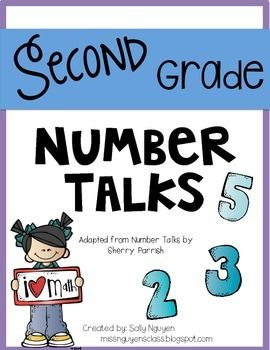 This file include second grade number talks that focuses on addition and subtraction. Students will improve math skills using the following mental strategies: doubles, near doubles, making landmark/friendly numbers, making tens, compensation, adding up chunks, adding up, and removal.