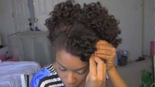 How To Do Bantu Knots On Natural Hair | African American Hairstyle Videos....This site is generally really great for videos!One of MY FAVS!!!