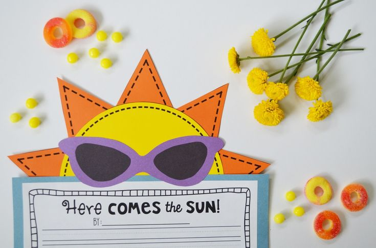 Tortilla sun writing activities
