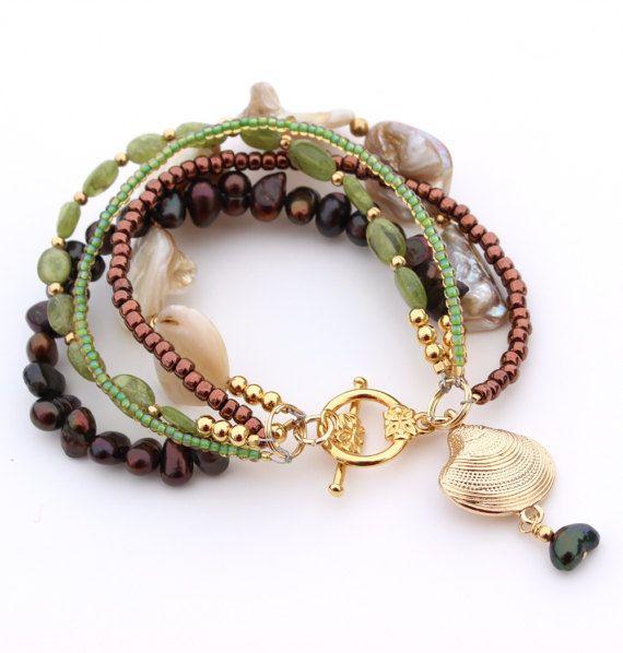 Summer Bracelet Womens by InspiredTheory on Etsy