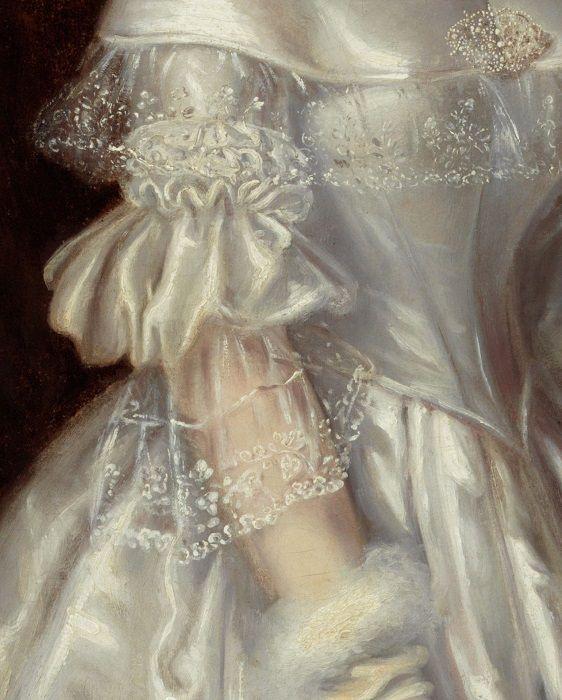 "daughterofchaos: ""Maurice Felton, Portrait of Mrs Alexander Spark,  detail, 1840 "":Англия  -  Австралия. (1803  -  1842)."