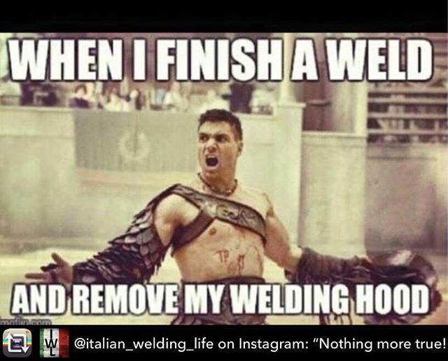 "Awesome 👌@italian_welding_life on Instagram: ""Nothing more true! #workout #work #weld #welder #welding #tig #tigwelding #weldporn #metal…"" - Nothing more true! #workout #work #weld #welder #welding #tig #tigwelding #weldporn #metal #metalwork #artwork #metalart #weldlife #weldernation #stainless #inox #work  #workinprogress #working #instagood #beautiful #stainlesssteel #hardlife #gtaw #helmet"
