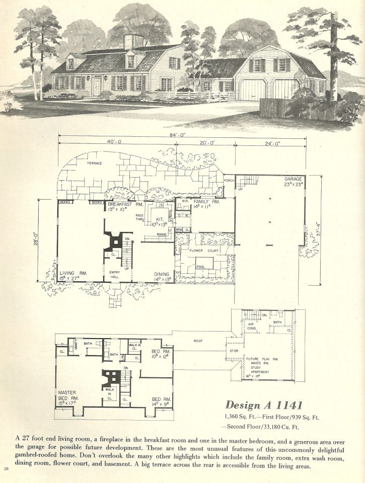 images about Dutch Colonial on Pinterest   Gambrel Roof       images about Dutch Colonial on Pinterest   Gambrel Roof  Gambrel and Vintage House Plans