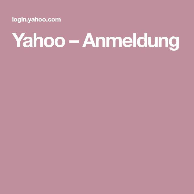 Yahoo –Anmeldung