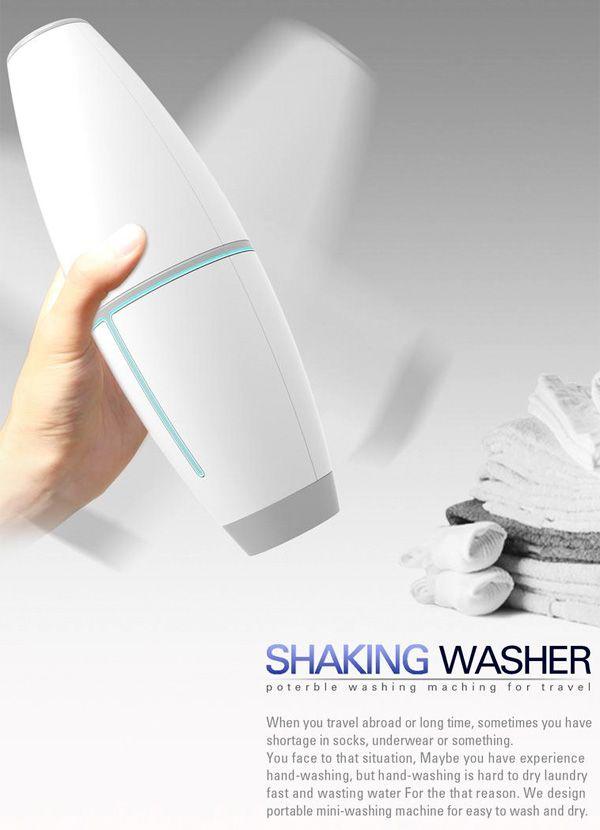 Shaky Wash | Yanko Design