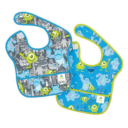 Waterproof your little one's mealtime with bibs from Bumkins and Disney Baby!