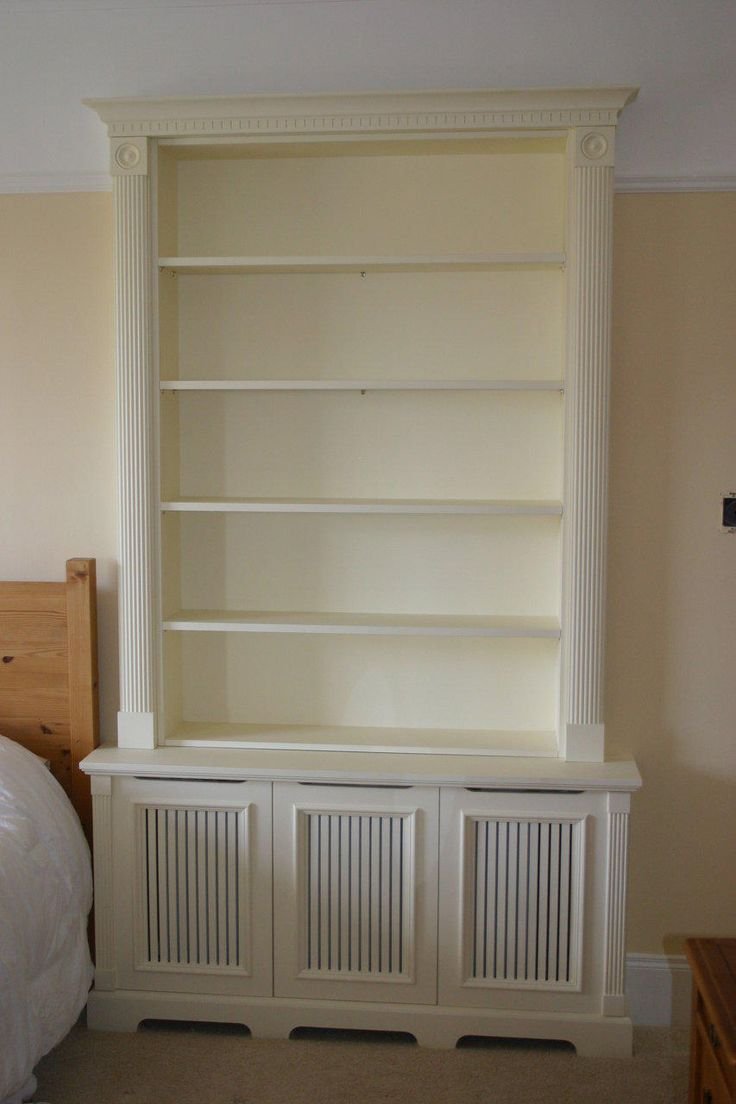 radiator cabinet - Google Search Very smart solution, put cabinet over the radiator!