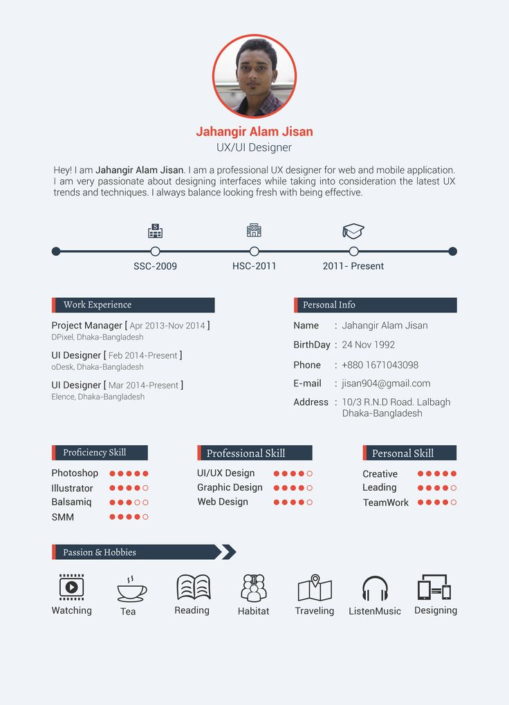 13 best images about cv examples on pinterest