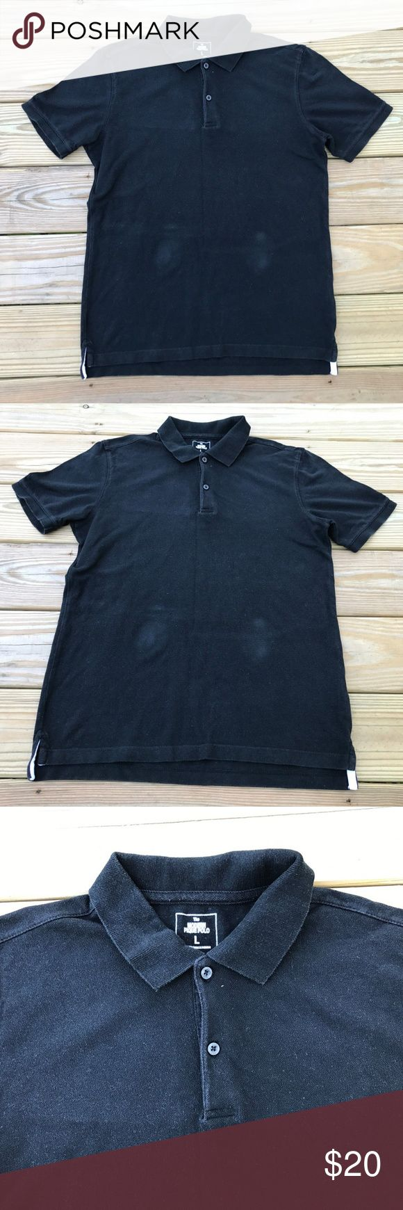 Gap Mens Polo T shirt The Modern Pique Black Polo Pre-owned - Used - In very Good Condition, Please see the photos for condition and read description for exact size.  Gap Men's Polo T shirt The Modern Pique Polo Shirt Black Polo T shirt Size L POLO  Brand: Gap  Color: Black  Size: L  Measurement  Length: 27 inches armpit to Armpit: 20 inches GAP Shirts Polos