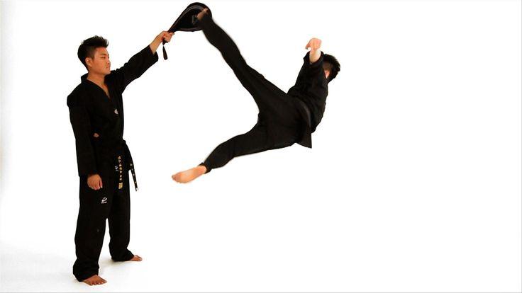 Watch more How to Do Taekwondo videos: http://www.howcast.com/videos/508764-How-to-Do-Taekwondo-with-Jason-Ok-Taekwondo-Training Learn how to do a bolley kic...