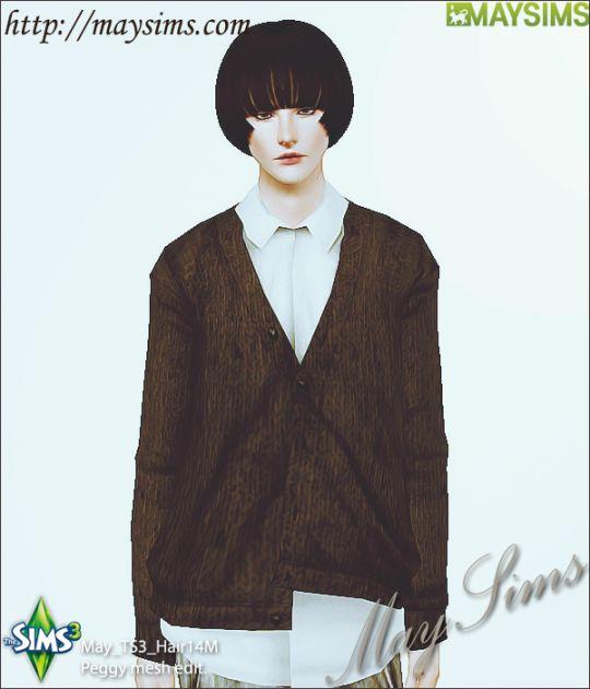 Mayims: 심즈3 헤어 (Sims 3 Hair) - May_TS3_Hair14M