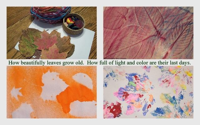 art ideas with fall leaves autumn art and craft for kids