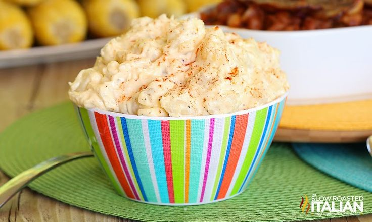 Southern Style Macaroni Salad http://www.theslowroasteditalian.com/2014/06/southern-style-macaroni-salad-recipe.html