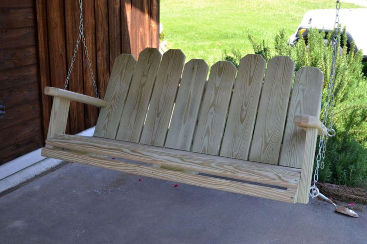 Simple Modern Porch Swings ~ http://www.lookmyhomes.com/modern-porch-swings-ideas/