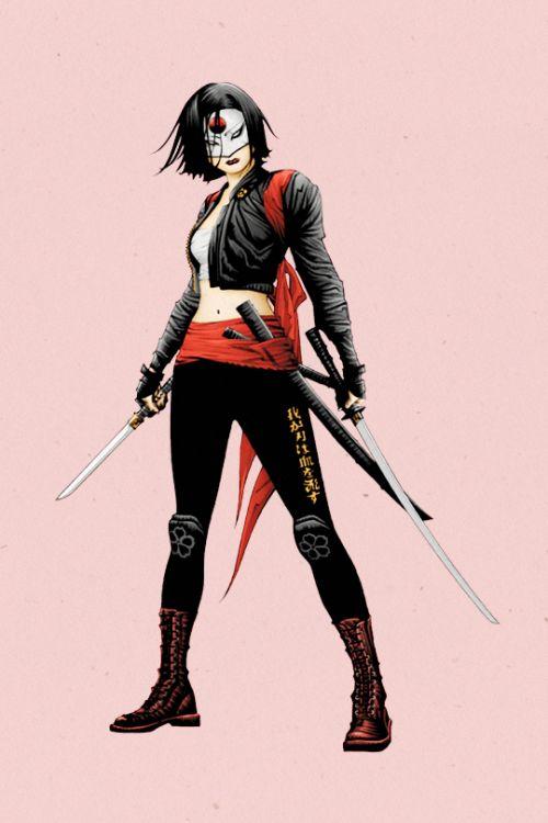 'Suicide Squad' Tatsu Yamashiro/Katana - Jae Lee