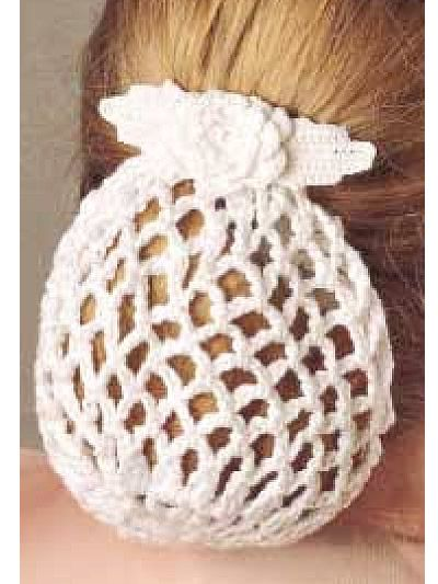 Free Crochet Patterns To Print   Style your hair in your favorite ponytail and add this extra touch of ...
