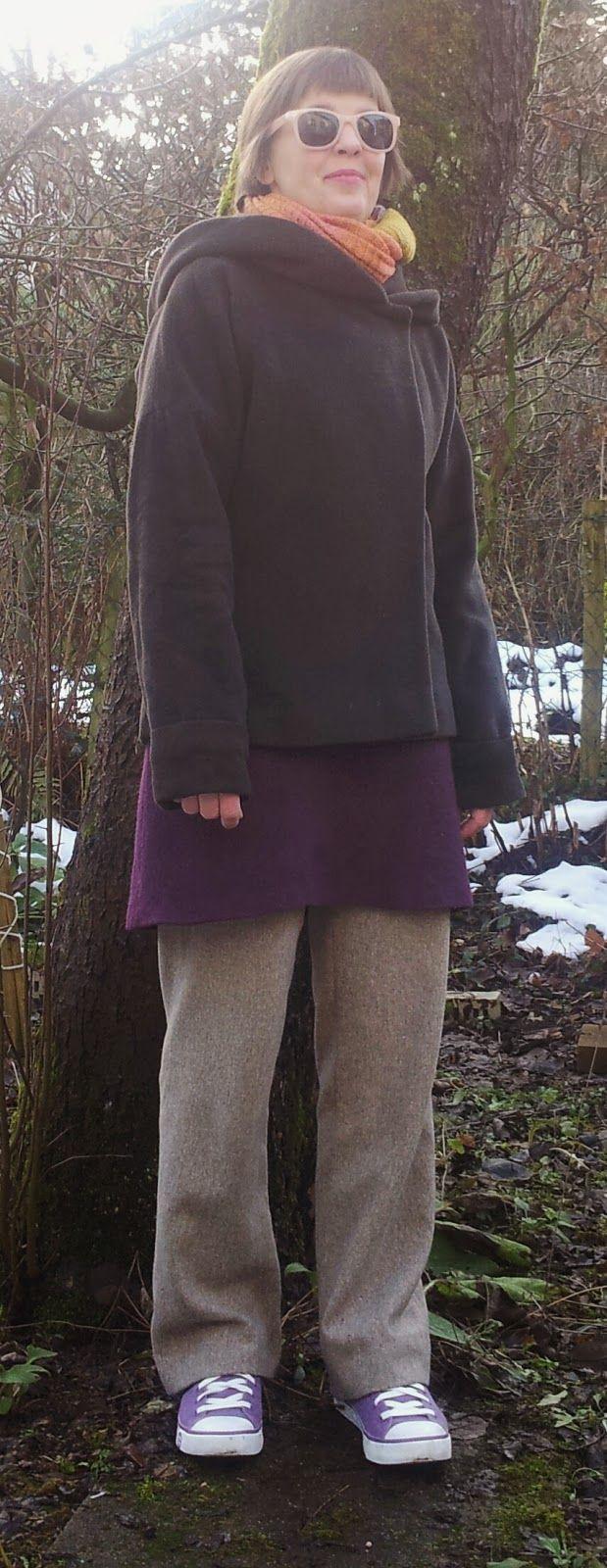 bunte kleider: MMM 4 Jacke Eve von Schnittchen und Wohlfühlkleidung