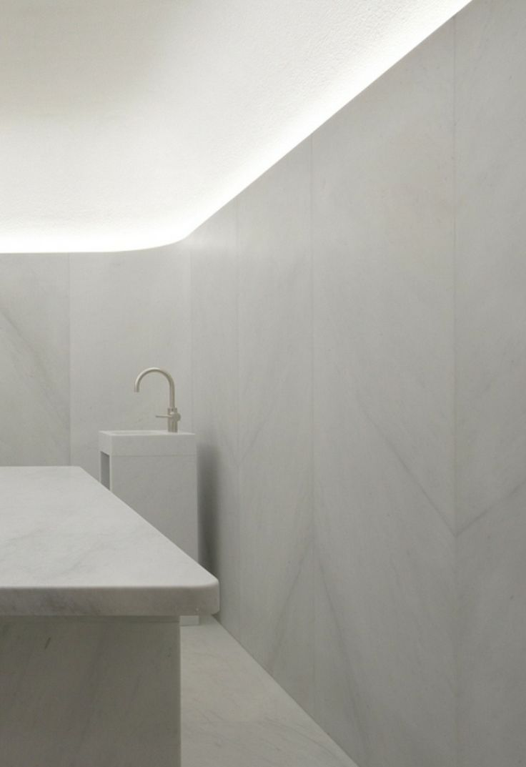 David Chipperfield Architects | Cafe Royal | White marble hamam | Akasha Holistic Wellbeing Centre | 2013