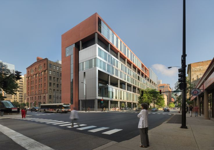 Image 1 of 24 from gallery of William Jones College Preparatory  / Perkins+Will. Photograph by James Steinkamp, Steinkamp Photography