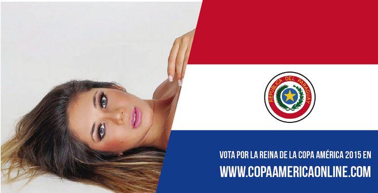 Candidata a Reina de la Copa América 2015, representando a Paraguay Judith Gamarra  a Votar por tu favorita #ReinaCopaAmerica2015 http://ow.ly/Ojdjq