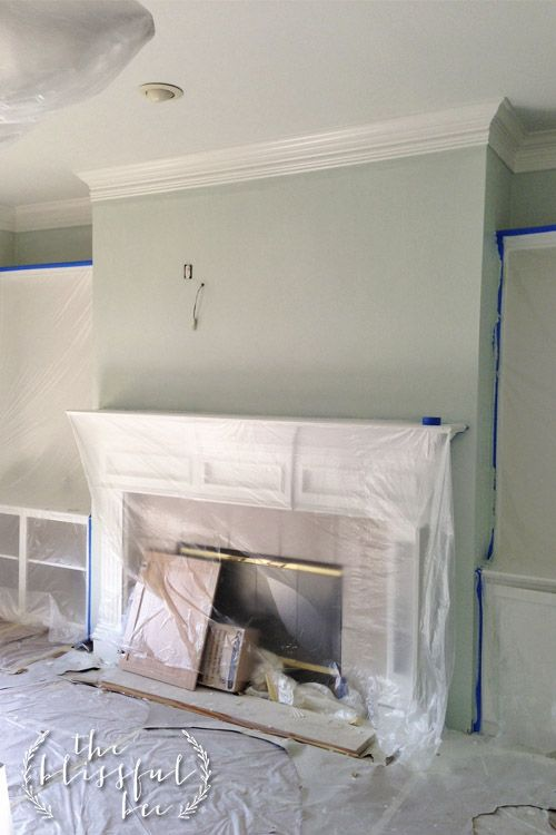 Sherwin Williams Winter In Paris Blissful Bee States This Blue Gray Green Is The Most Beautiful Color She Has Ever Seen Perhaps It Paint Colors