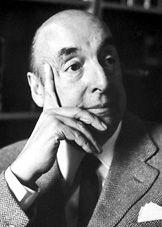 Pablo Neruda. Lo que te debo es como el pozo de una zona slvestre/ en donde guardó el tiempo relampágos errantes.