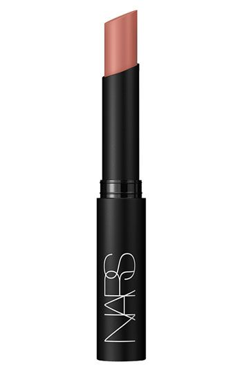 Nars pure matte lipstick in Montego Bay...Goes on easily and looks great!