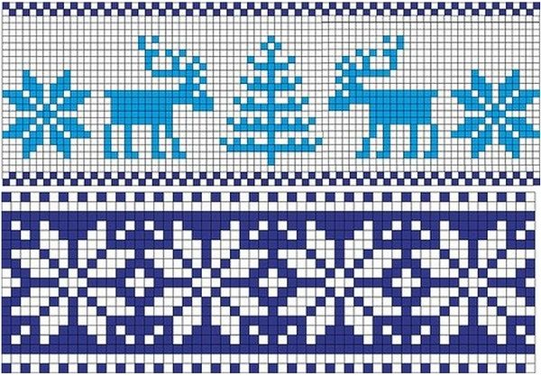 Norwegian patterns spokes