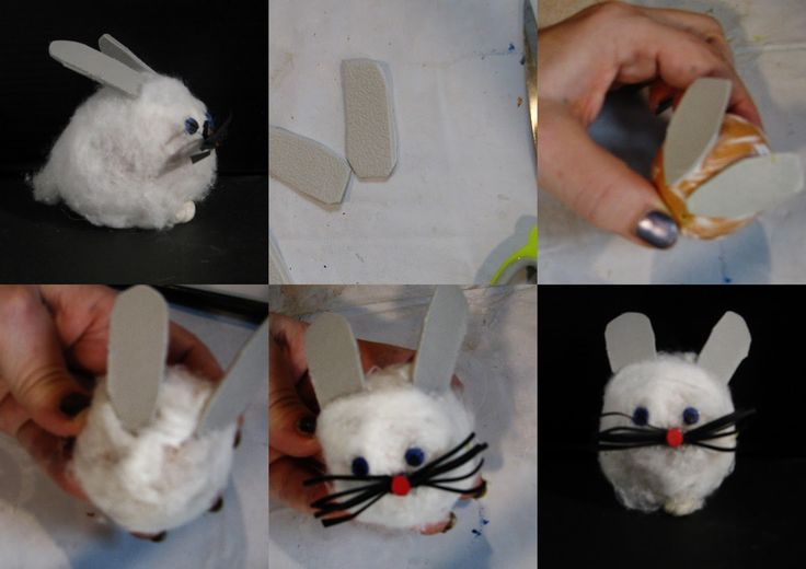 Pomysły plastyczne dla każdego DiY - Joanna Wajdenfeld: Kurczaczki i zajączki wielkanocne z jajek