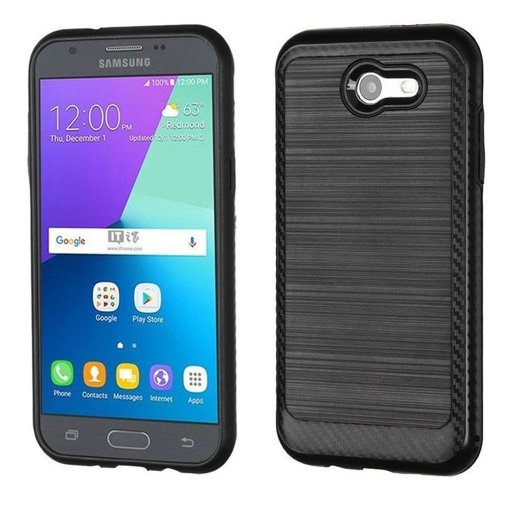 Insten Hard Snap-on Dual Layer Hybrid Case Cover For Samsung Galaxy Express Prime 2/ J3