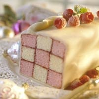 Battenburg Cake- British. How sweet!