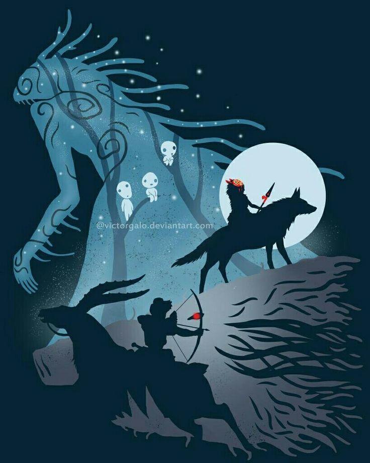 Mononoke Hime Wallpaper 的图片搜索结果